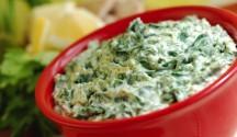 Rustic Artichoke Spinach Dip