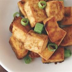 Ginger Baked Tofu