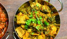 Saag Aloo (Indian Spinach and Potatoes)