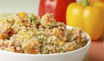Quinoa Salad with Sweet Potatoes and Peppers