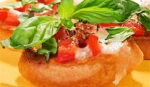 Bruschetta with Sun-Dried Tomatoes