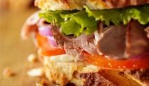 Roast Beef Sandwich with Wasabi Mayo