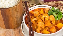 Red Curry Shrimp and Kabocha Squash