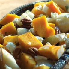 Butternut Squash and Pear Sauté