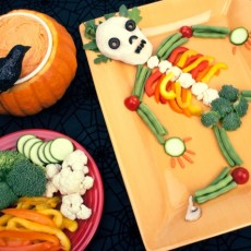 Halloween Very Veggie Skeleton