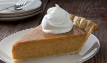 Red Kuri Crème Fraîche Pie with Cinnamon