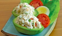 Avocado Crab Louie Salad