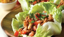 Thai Lettuce Wraps with Seitan