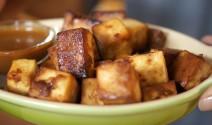 Baked Marinated Tofu