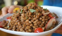 Lentil Salad with Radish