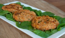 Millet Yam Cakes
