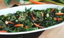Sesame Kale Salad with Nori
