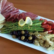 Asparagus Antipasto Platter