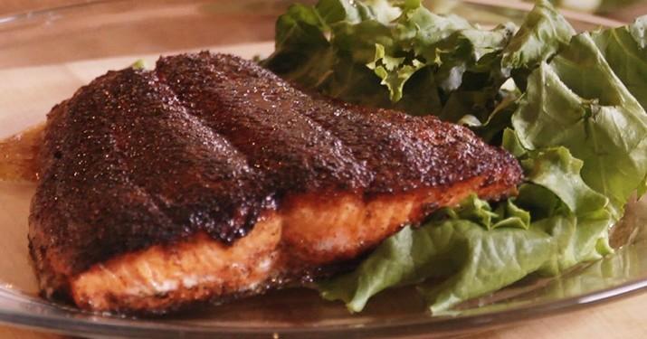 Blackening Salmon