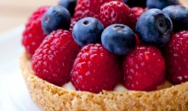 Fresh Berry Cream Tartlets