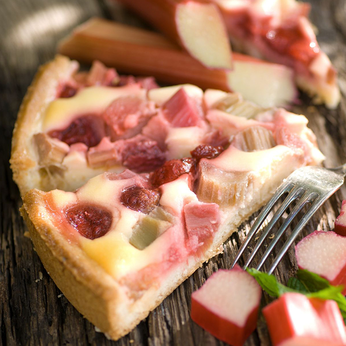 Rhubarb Yogurt Tart Recipe - Co+op, stronger together
