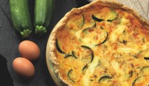 Summer Vegetable Quiche