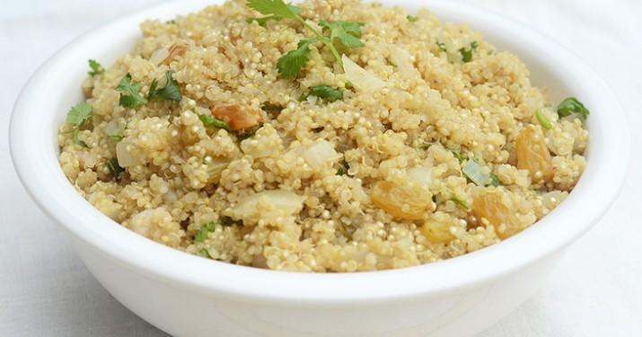Cumin Raisin Quinoa