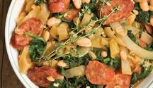White Bean Ragout with Kale