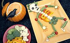 A Very Veggie Halloween Snack