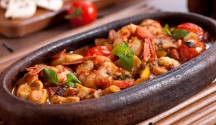 Spicy Shrimp Tapa