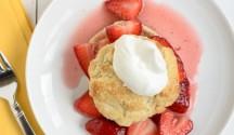 Strawberry Shortcake Chantilly