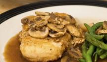 Chicken in Mushroom Marsala Sauce