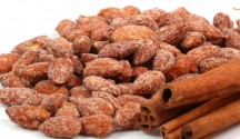 Cinnamon Sugar Roasted Almonds