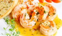 Shrimp in Lemon Butter Sauce