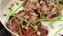 Beef or Veal Piccata
