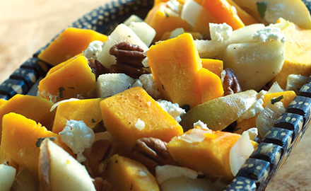 Butternut Squash and Pear Sauté