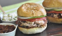 Pulled Pork Cemita Sandwich