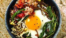 Quick Vegetable Bibimbap
