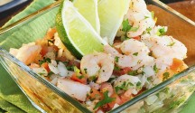 Ceviche with Melon