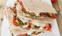 Grilled Chipotle Chicken Quesadillas