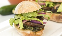 Marinated Portobello Mushroom Sandwiches