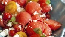 Mojito Watermelon Salad