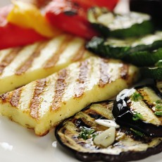 Grilled Eggplant Napolean