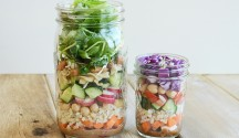 DIY: Salad in a Jar