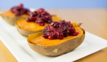 Maple-Cranberry Sweet Potatoes