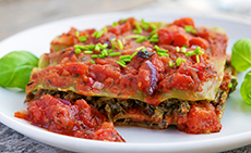Tofu-Kale Lasagna