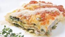 Creamy Chicken and Spinach Lasagna