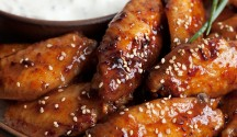 Feisty 5 Spice Chicken Wings