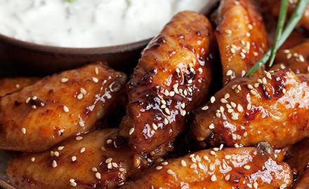 Feisty 5 Spice Chicken Wings