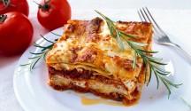 Turkey Sausage and Chevre Lasagna
