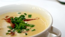 Cheddar and Ale Soup