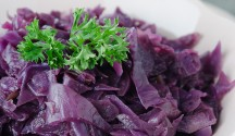 Indian Braised Red Cabbage