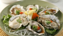 Japanese-Style Oysters with Fish Roe
