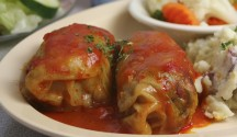 Stuffed Cabbage Rolls with Beef