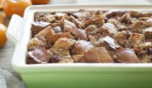 Persimmon Bread Pudding